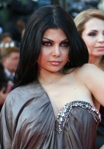 Lebanese singer  Haifa Wehbe poses 24 Ma